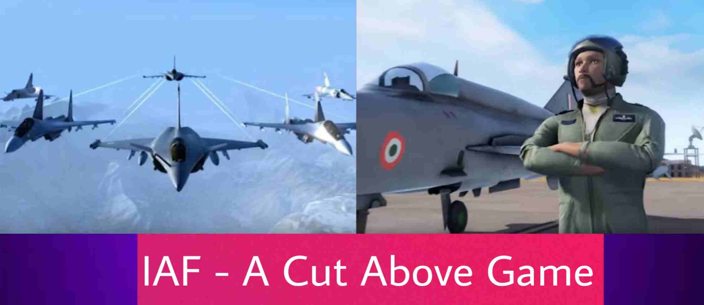 IAF (Indian Air Force) - Cut Above Game Features